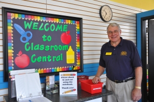 We love seeing Bill walk through the doors of Classroom Central twice a month.